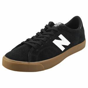 New Balance 210 Mens Black Gum Suede
