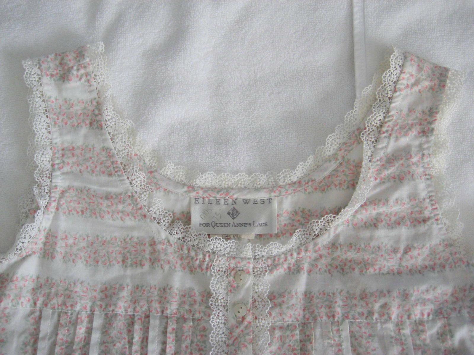1990s Unworn Eileen West Queen Anne's Lace Nightg… - image 5