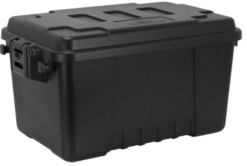 PLANO TACTICAL Trunk Kiste Outdoor Camping Box Case Transportbox 53 ltr schwarz