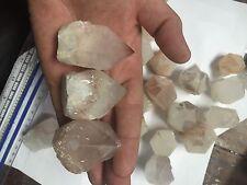 1lb Wholesale Hematite Hematoid Included Candle Quartz Crystals