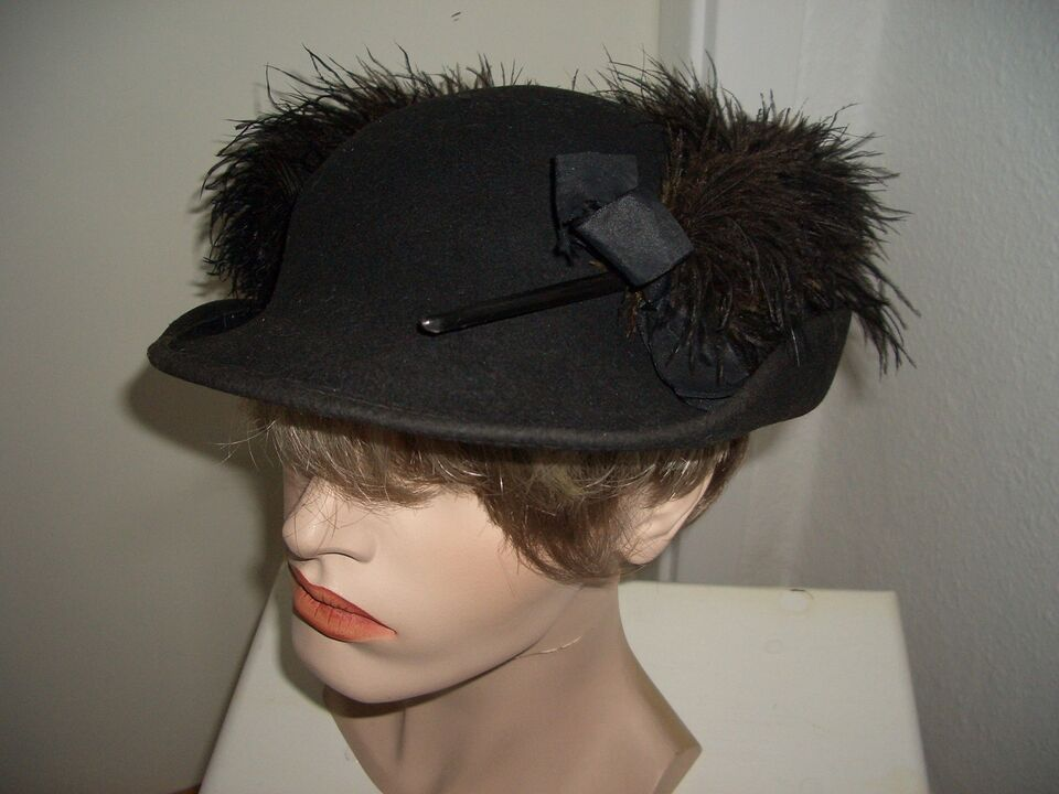 Hat, Vintage, Ukendt