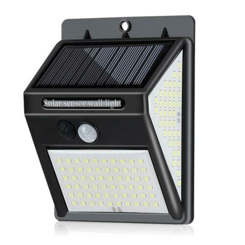20//40LED Solar Powered Light PIR Motion Sensor Security Outdoor Garden Wall Lamp