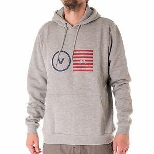 Rvca-opposite-Objects-Sudadera-Con-Capucha-Hombre-Atletico-Heather-33252
