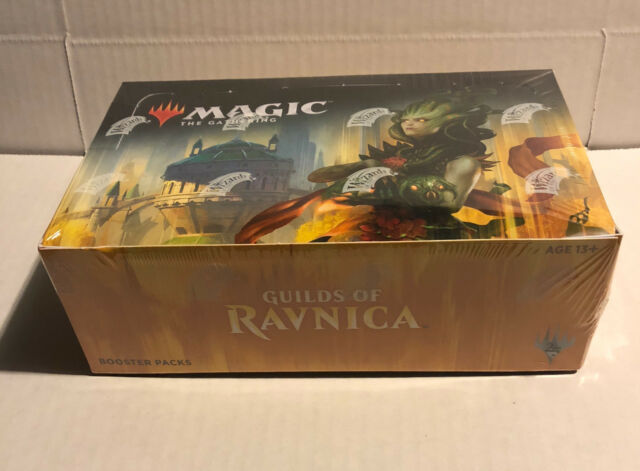 Magic the Gathering, Guilds Of Ravnica, Factory Sealed Booster Box!! MTG!! NEW!!