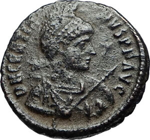 GRATIAN-on-Ship-w-Victory-Authentic-Ancient-Genuine-378AD-Roman-Coin-i67578
