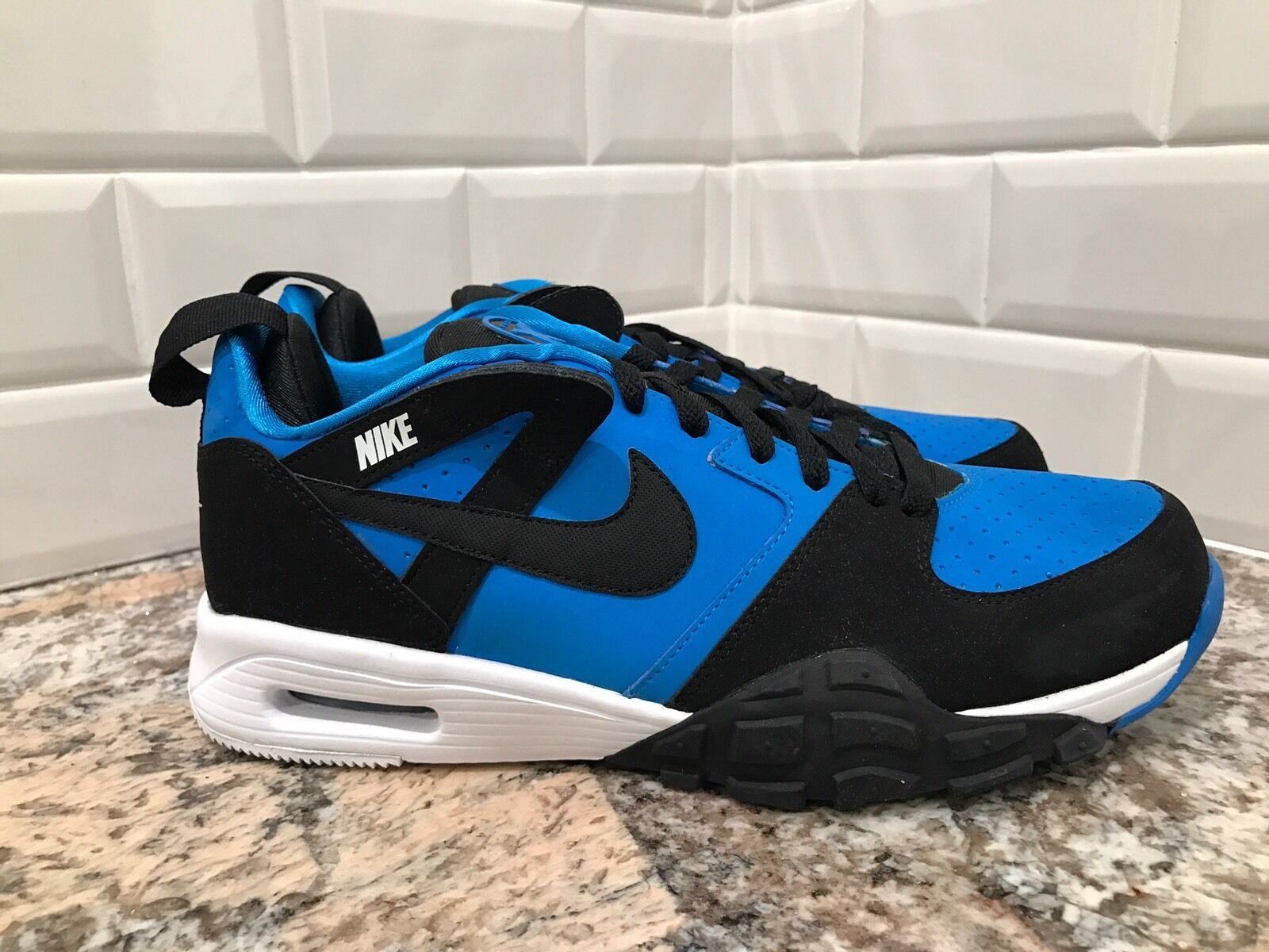 2018 Nike Air Trainer 91 Lite SAMPLE Blue Black White Training Price reduction Special limited time