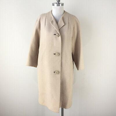 Vintage BEIGE Wool Coat