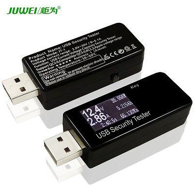 Digital 3V-30V Current Voltage Charger Doctor Capacity power Tester USB Detector