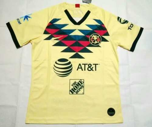 2019-20 Club America Home Soccer Jersey Soccer Jersey Short sleeve  szie S-2XL