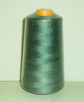 6000 Yards Quality Overlocking Sewing Machine Polyester Thread Cones, 10 Colors