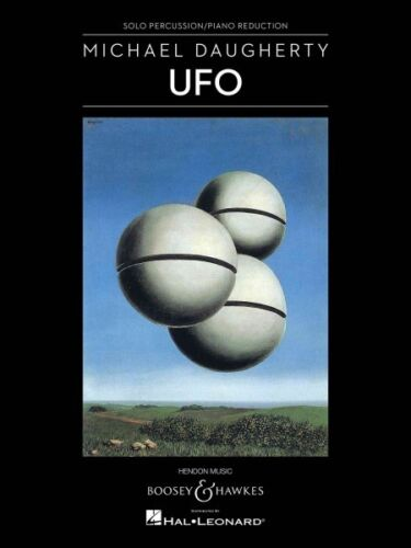 UFO for Solo Percussion and Orchestra Chamber Music NEW 048023523