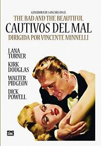 THE-BAD-AND-THE-BEAUTIFUL-1952-Dvd-R2-Kirk-Douglas-Lana-Turner
