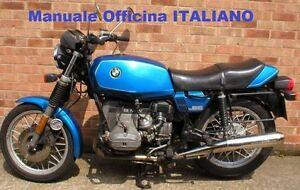 BMW R45 / R65 ( R 45 / 65 ) Manuale Officina E Manutenzione ITALIANO