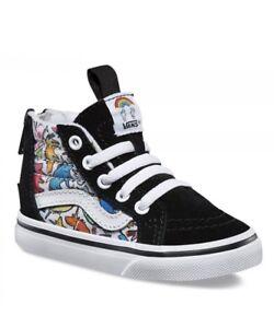 9eb4e3ffb798e Vans Sk8 Hi Zip (Dallas Clayton) Unicorns-Multi Color- Toddlers 5