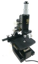 American Optical Ao Spencer 3 Stage Microscope B 35 83