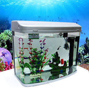 Medium size hr3 380 minjiang aquarium fish tank withfilter for Where to buy pet fish