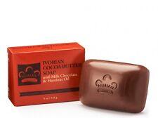 IVORIAN COCOA BUTTER BAR SOAP with Milk Chocolate & Hazelnut Oil - 5 OZ.
