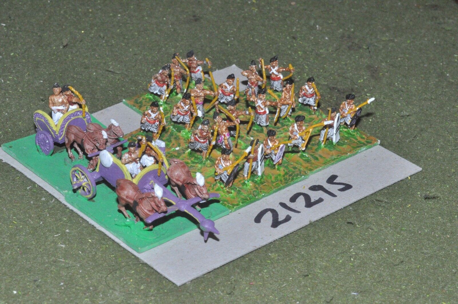 15mm Classic Indian -  infantry 26 figures - inf (21195)