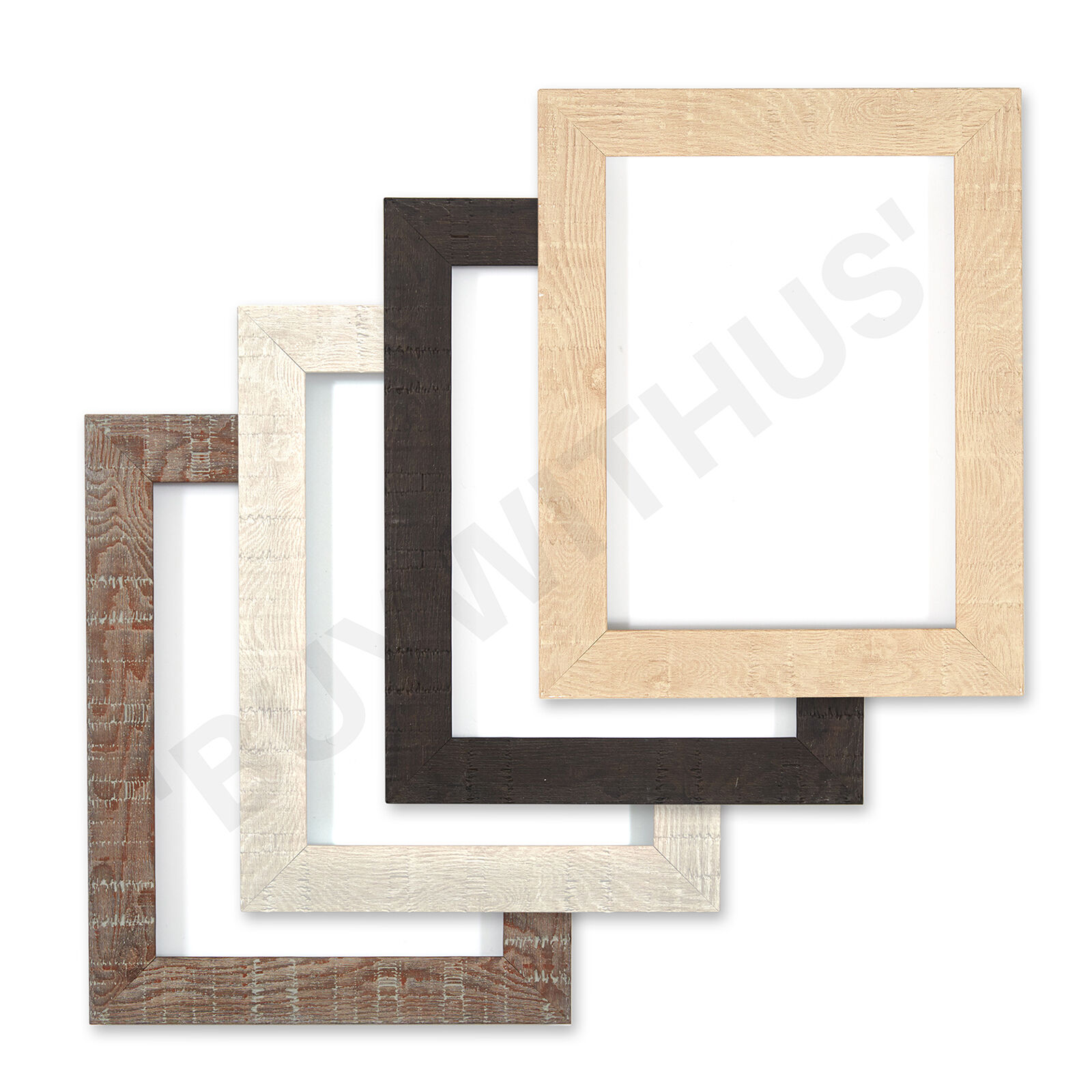 Shabby Chic Rustic Wood Grain Picture Frame Photo Frame