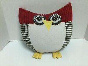 Owl Pillow Childrens Bedroom Decor, Chi Omega, Houndstooth   eBay