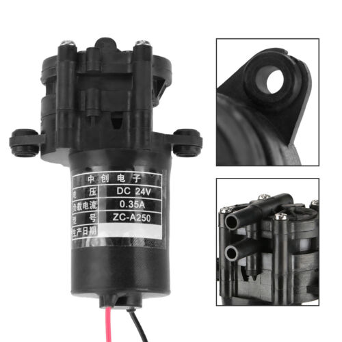 DC12//24V ZC-A250 Mini Pompe eau Engrenage Auto-amorçante Résistant corrosion Set