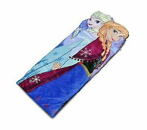 LA WK319061 Disney Frozen Sisters Figural Slumber Sack Idea Nuova