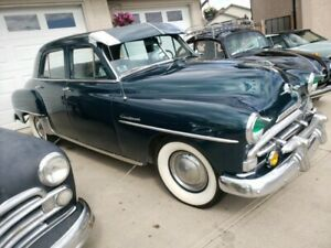1952 Plymouth cranbrook 4 door