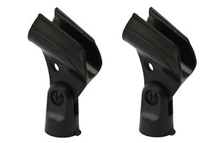 2PCS-Microphone-Mic-Stand-Clip-Mic-Holder-Mount-Kit-for-SM57-mic-NEW