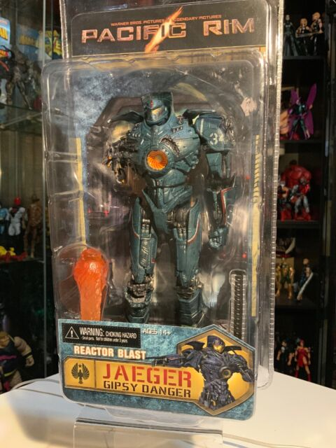 "REACTOR BLAST JAEGER GIPSY DANGER Pacific Rim NECA 2015 7/"" INCH Action Figure"