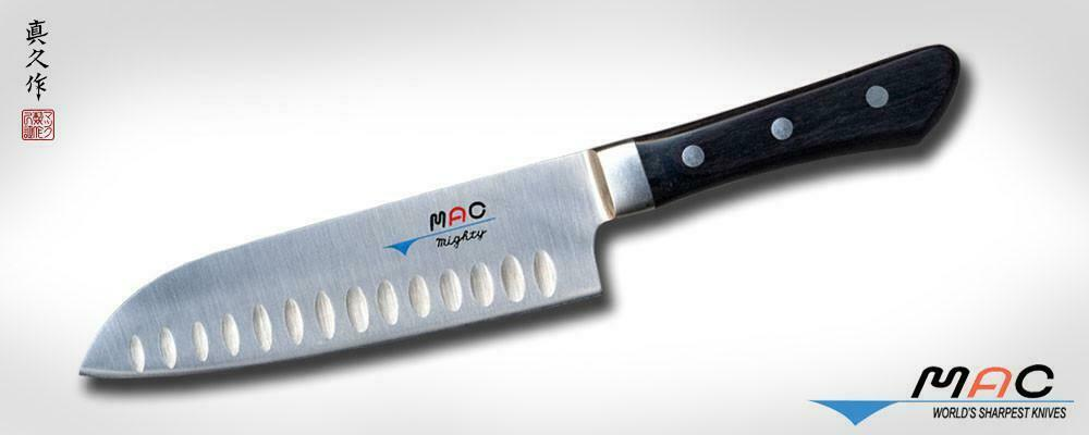 MAC MSK-65 - Professional Series 6 ½  Santoku with dimples Made in Japan
