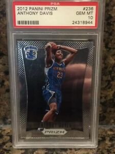Anthony-Davis-Prizm-Zion-Silver-Tatis-Foil-Psa-10-Hotpack-Repack-Out-Of-300