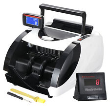 Automatic Cash Currency Money Counter Machine Counterfeit Bill Detector Uv Mg Ir