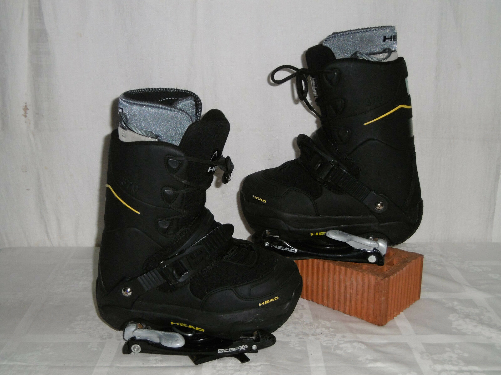 HEAD   370   JUNIOR SNOWBOARD STEP-IN Stiefel GR  35 + HEAD STEP-IN BINDUNG
