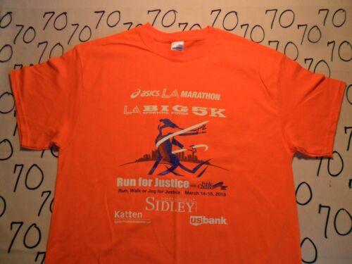 NWOT Big 5 LA Marathon 2015 T Shirt Large