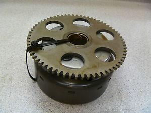 Suzuki-GS250-GS250T-Used-Original-Engine-Starter-Clutch-Flywheel-Assy-1981-BDK