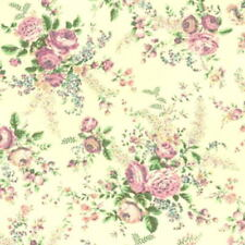 SALE! Cottage Shabby Chic Mary Rose Sweet Charms MR2150-13E Cream Fabric BTY