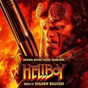 Hellboy-Original-Soundtrack-Benjamin-Wallfisch-NEW-CD