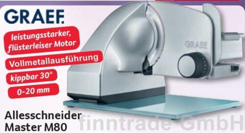 Graef M80 Master Allesschneider Brotschneidemaschine Brotschneider