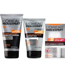 L'Oréal Paris Men's Expert Skin Regimen Cleanser, Shave Balm, & Moisturizer Set