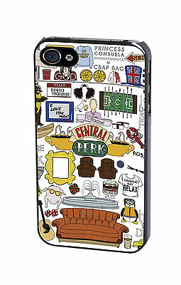 Friends TV Funny Central Perk Phone Case Cover for iPhone & Samsung Phones