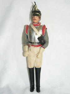 04f60 Ancienne Poupée Soldat Empire C.d.c Mollard Paris 7 Eme Cuirassiers