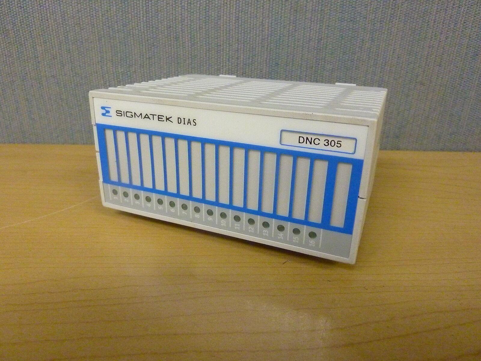 Sigmatek DIAS DNC305 05-011-305  16 Channel Input Module  (13260)