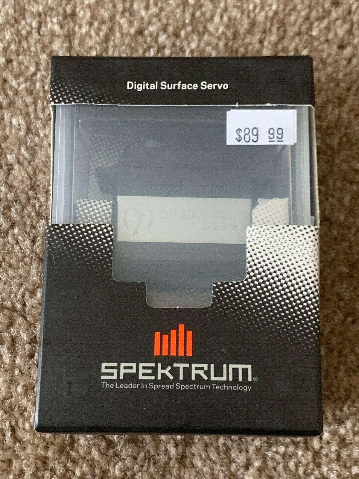 New Spektrum S6090 High Voltage Surface Servo - Speed