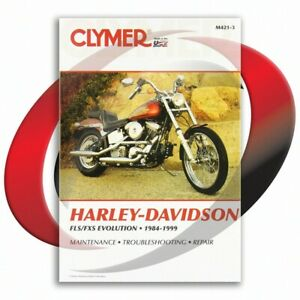 1994-1999-Harley-Davidson-FLSTC-Heritage-Classic-Softail-Repair-Manual-Clymer