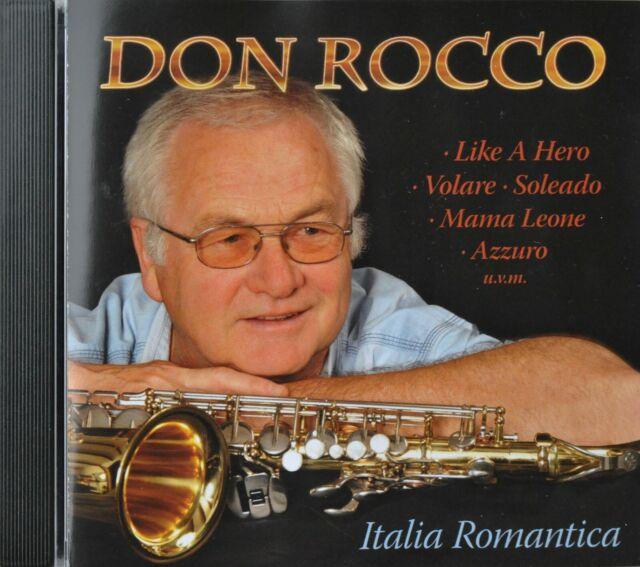 """CD DON ROCCO – """"Italia Romantica""""  NEU"""