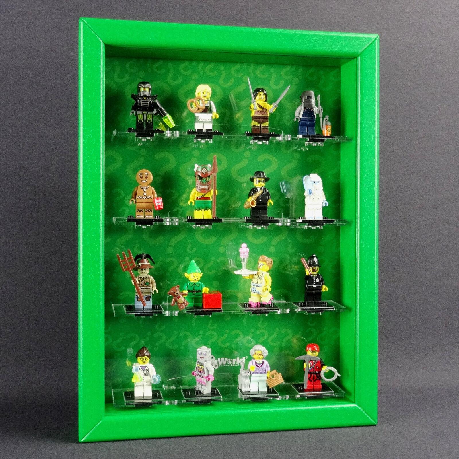 Figucase Raccogliere Vetrina per Lego Serie 71002 Mini Figure 11 Vetrinette