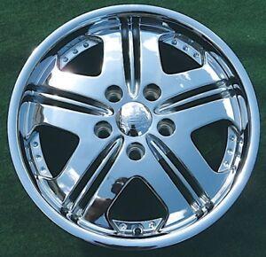 Details About New Vogue Shoreline Chrome Wheel Rim Cadillac Mht 16 Inch 5x115 5x4 5 Dub
