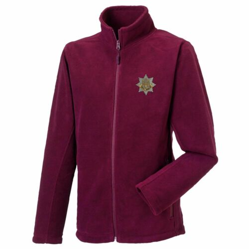 Royal Anglian Rgt Full Zip Fleece Embroidered Logo