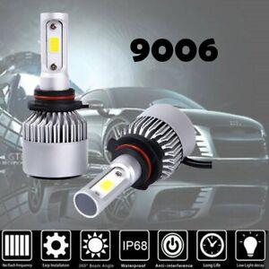2X-HB4-9006-LED-Headlight-Lamp-Light-Bulbs-Conversion-Kit-200W-20000LM-HID-6000K
