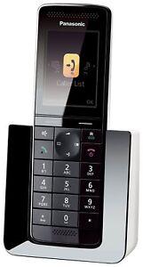 Panasonic-KX-PRS120GW-Telephone-Fixe-Digital-Repondeur-sans-Fil-Ecran-LCD